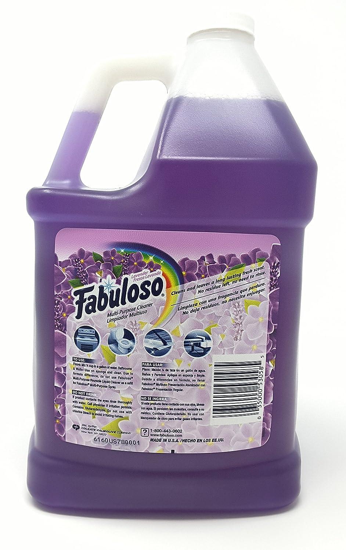 Amazon Com Fabuloso All Purpose Cleaner Liquid Solution Purple