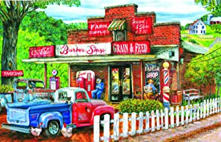 product image for Saturday Morning at The Shop 1000 pc Jigsaw Puzzle by SunsOut