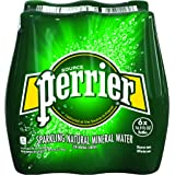 PERRIER Sparkling Mineral Water, 16.9-Ounce Plastic Bottles (Pack of 6)