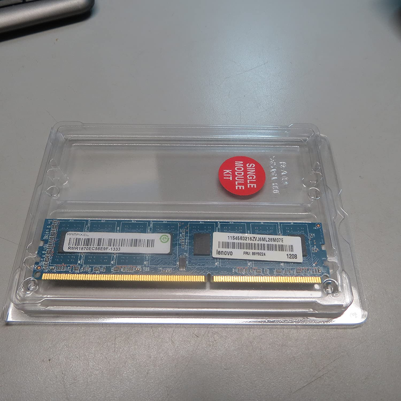 Lenovo 89Y9224 4GB PC3-10600U DDR3 1333 NonECC Unbuffered Desktop Memory RAMAXEL