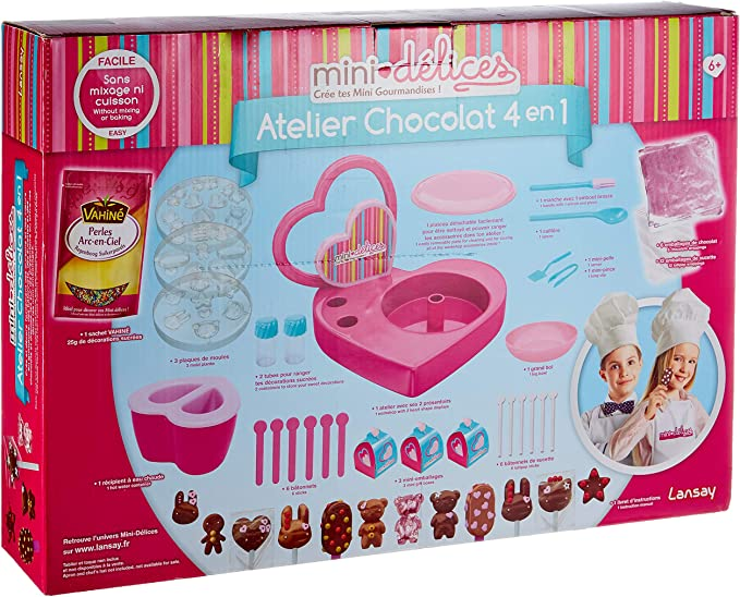 Je suis 9 anniversaire chocolat sucette lolly mould 4 sur 1 chocolat ou savon