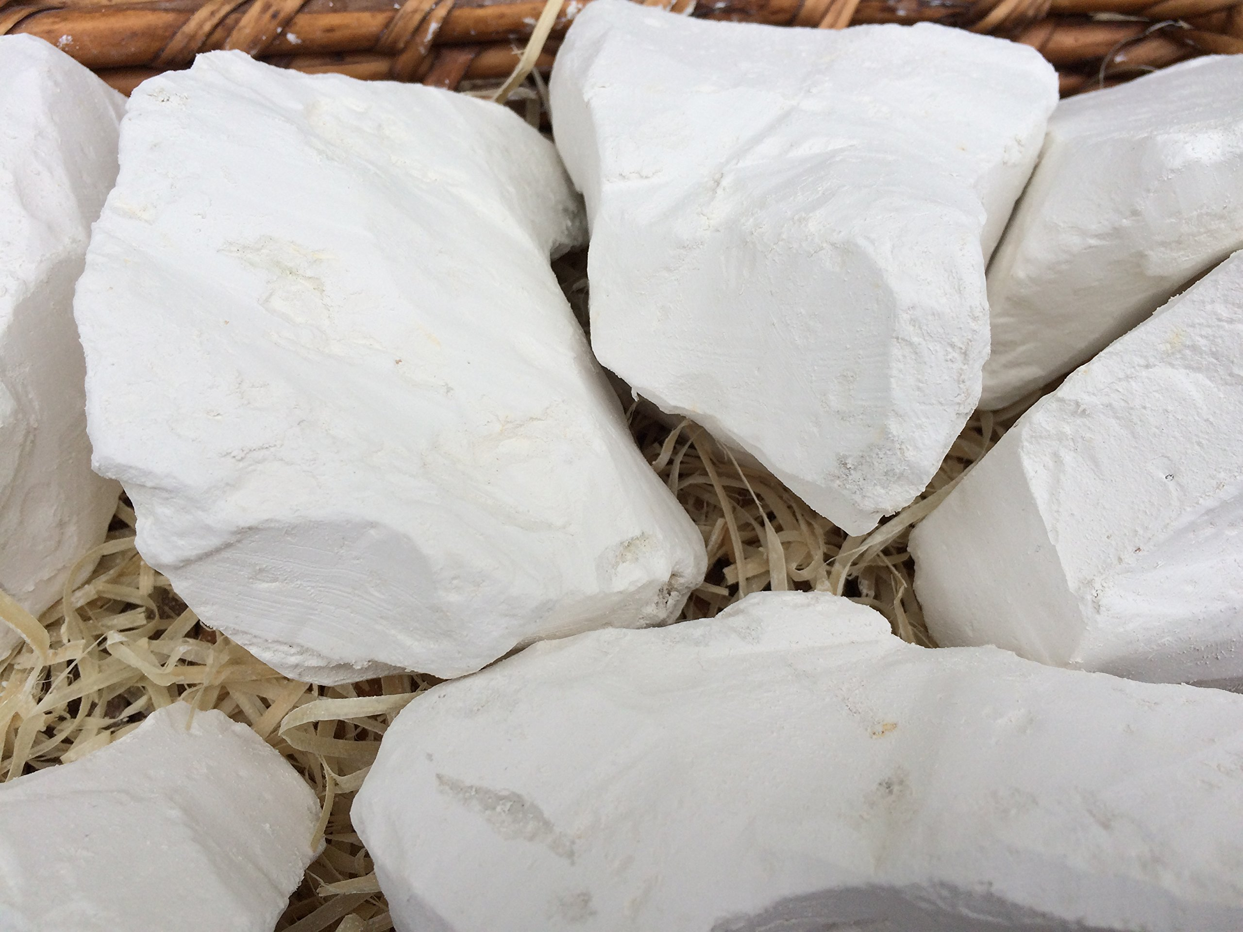 SEVRYUKOVA edible Chalk (Belgorod) chunks (lump) natural for eating (food), 4 oz (113 g)