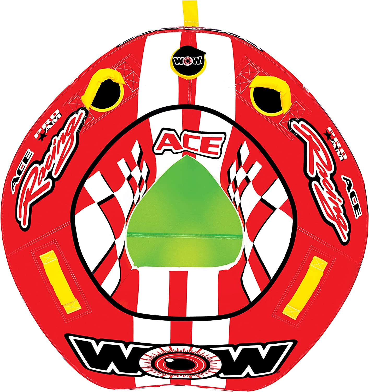WOW World of Watersports, 15-1120, Ace Racing Towable, Ski Tube, 1 Person