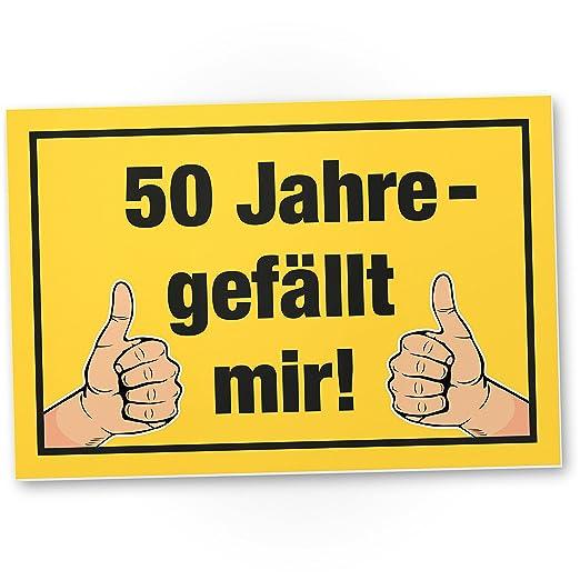 DankeDir!. por Fin 50 años - Me Gusta, plástico Cartel - 50 ...