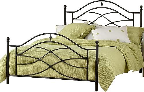 Hillsdale Furniture Hillsdale Cole Metal Frame King Bed Set