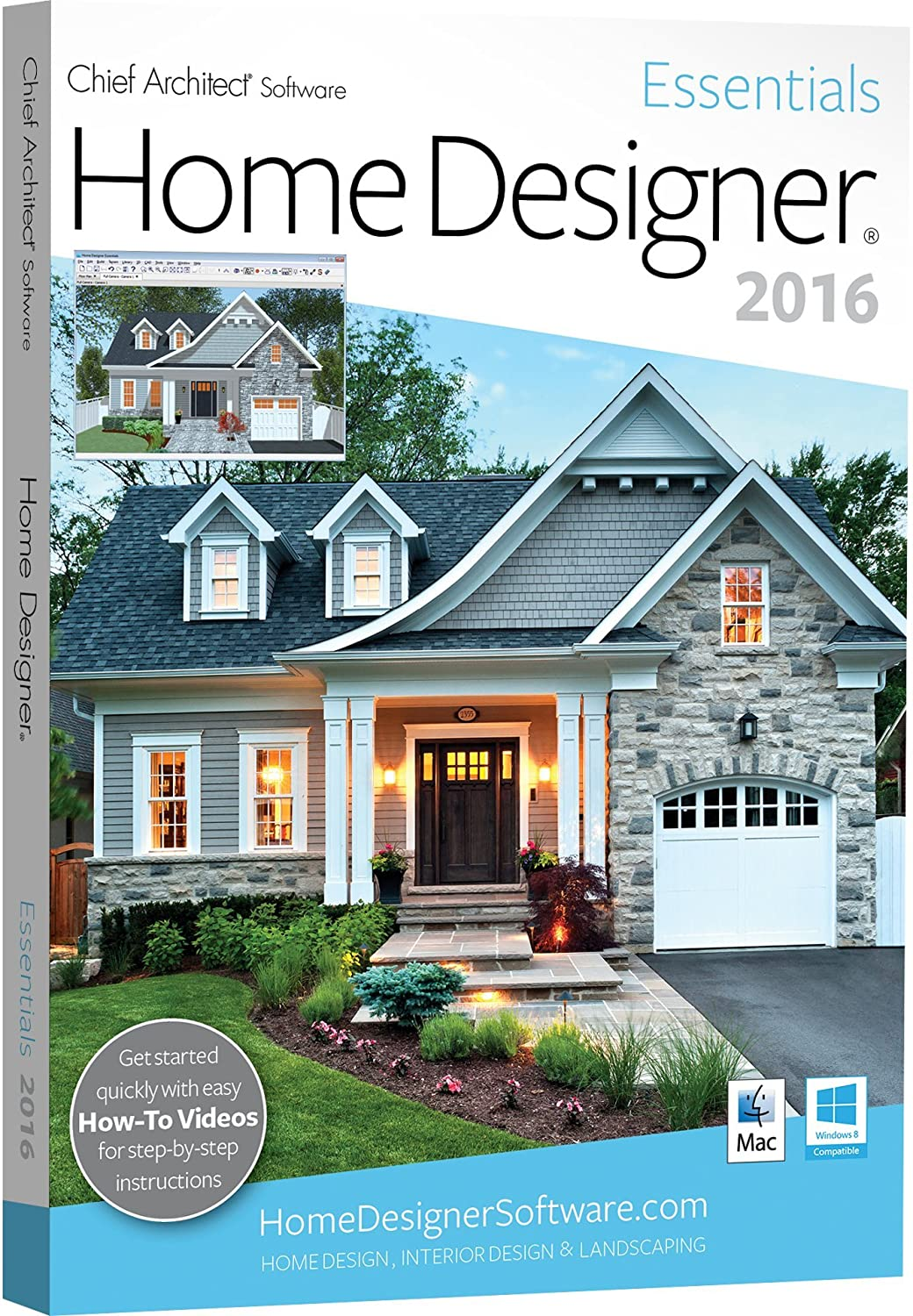 Chief Architect Home Designer Essentials 2016 Amazon In Software