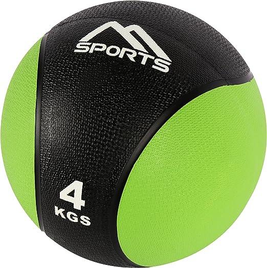 Balón Medicinal Juego 4 + 5 kg – Calidad de estudio profesional pelotas de gimnasia fitness Set: Amazon.es: Deportes y aire libre