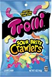 Trolli Gummi Sour Brite Crawlers Gummy Candy, 5 Ounces