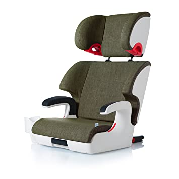 Clek Oobr High Back Booster Car Seat With Recline And Rigid LatchCadet