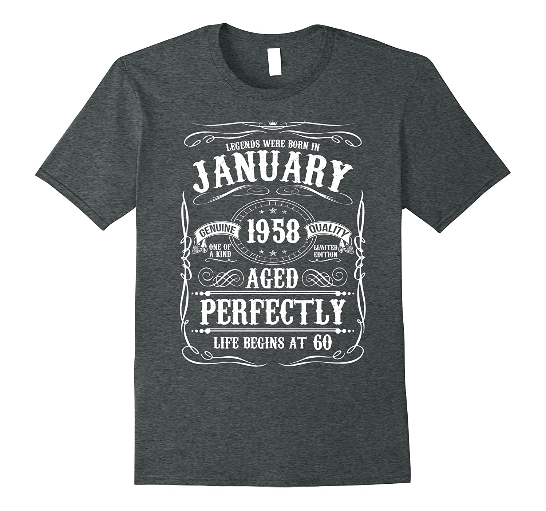 Funny Birthday Legend January T Shirt-Tovacu