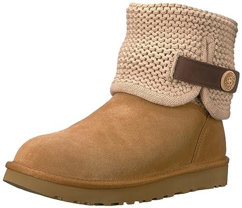 bf2401daafa UGG Australia Womens Shaina Chestnut Suede Boots