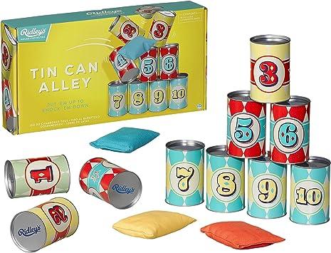 Ridleys House of Novelties Juego de Lata de Alley: Amazon.es: Juguetes y juegos