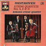 Shostakovich: String Quartets Nos. 4, 6 & 11/Borodin string quartet