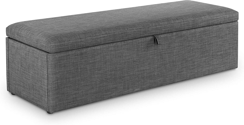 grau Julian Bowen Decke Box Medium