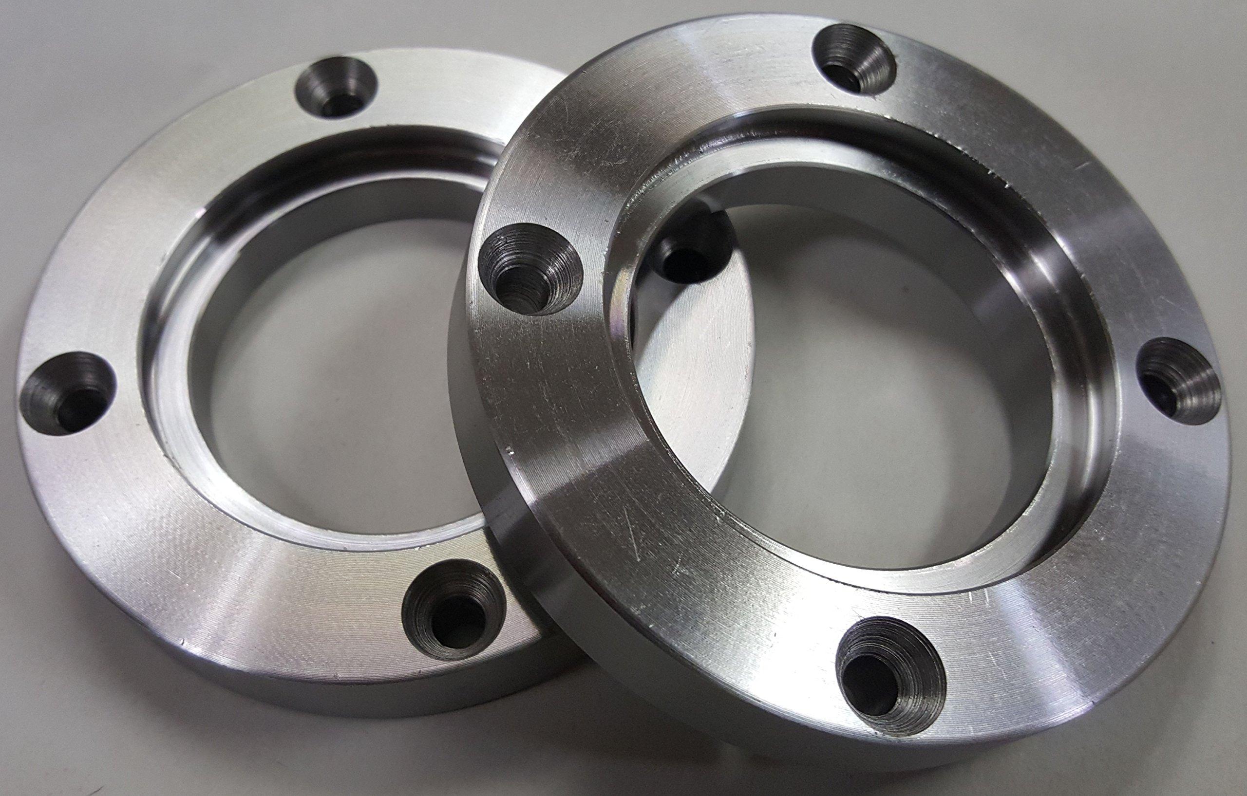 Set of 2 X Nova 6000 2'' (50mm) Face Plate ring- 3'' Diameter, fits Nova 2'' Jaw Sets by Nova