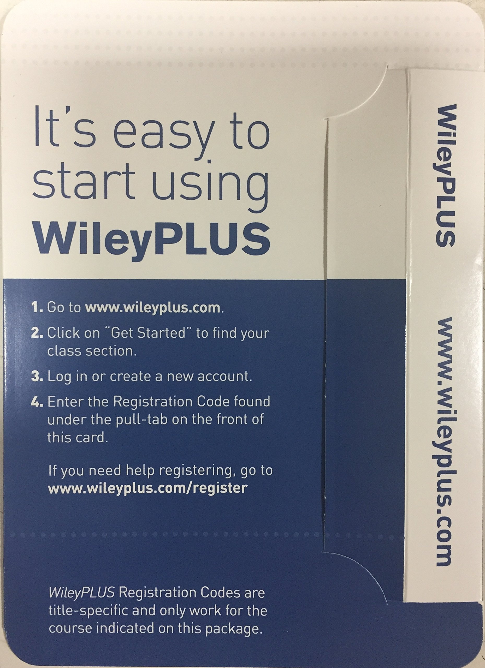 WileyPLUS Card - Laboratory Manual for Anatomy and Physiology ...