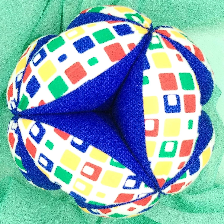Pelota Montessori - Parchís Azul: Amazon.es: Handmade