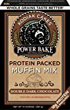 Kodiak Cakes Power Bake, Non GMO, Protein Packed Muffin Mix, Double Dark Chocolate, 14 Ounce - No Preservatives