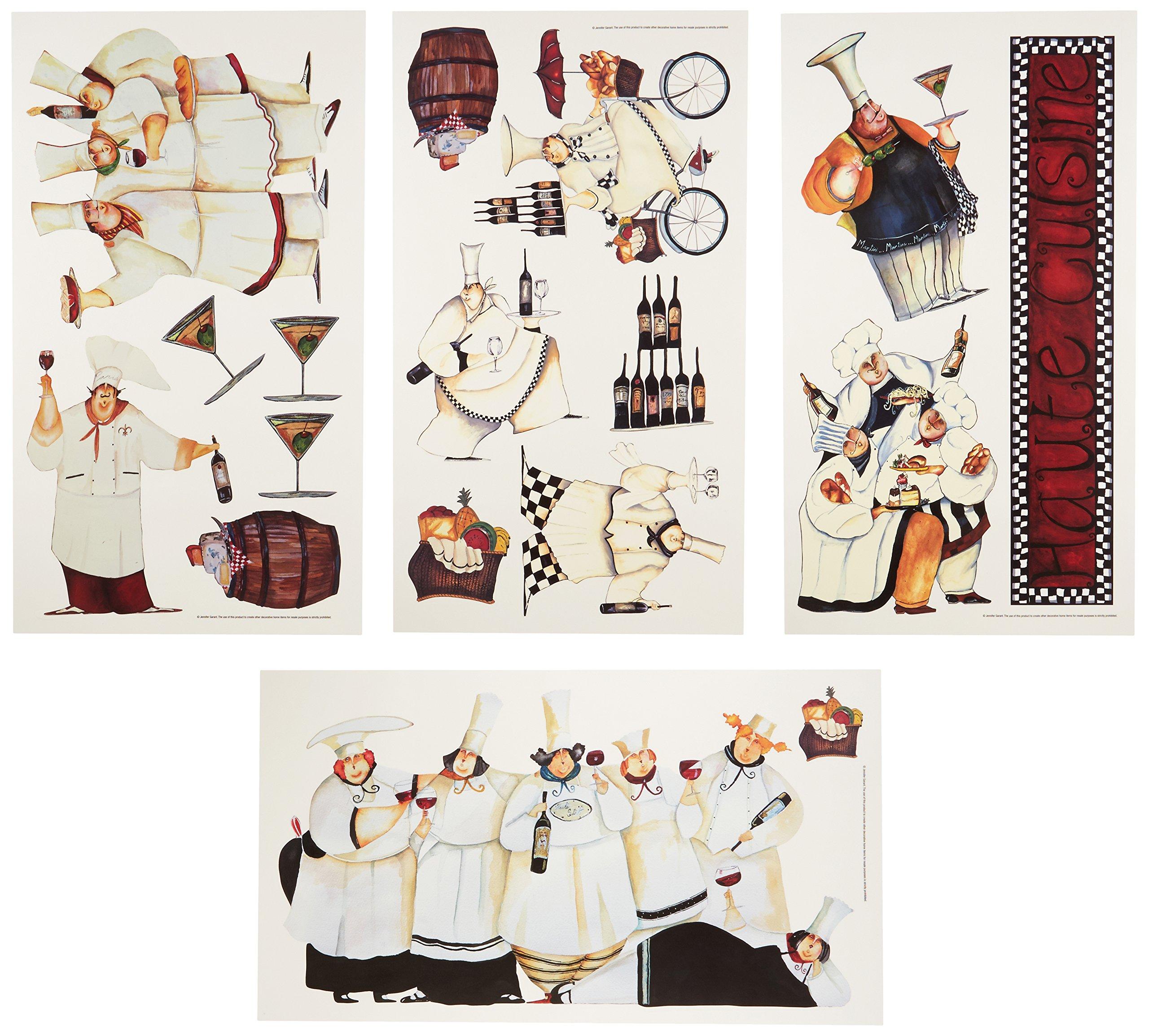 Vinilo Decorativo Pared [01M57JD8] chefs cocineros
