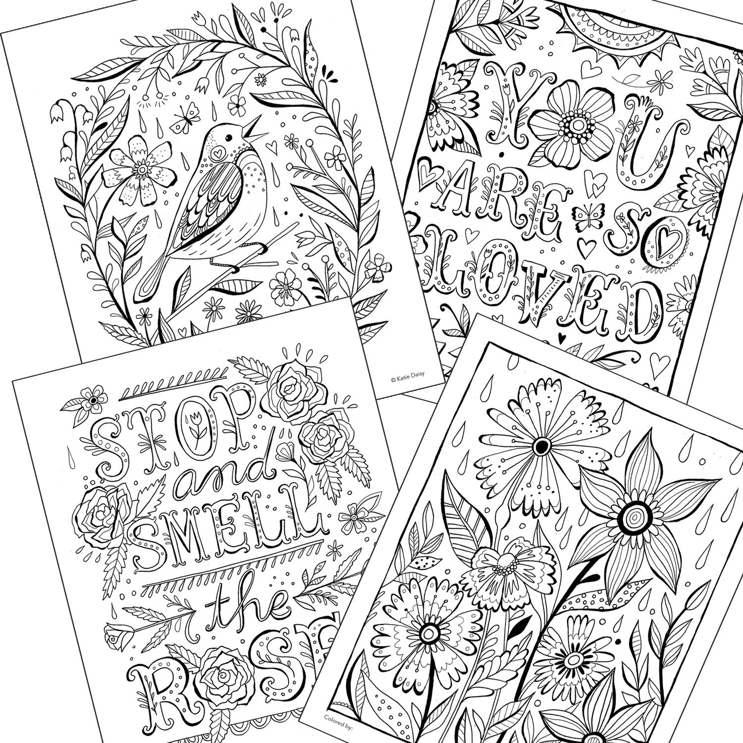 Amazon.com: Create Magic: A Coloring Book by Katie Daisy for ...