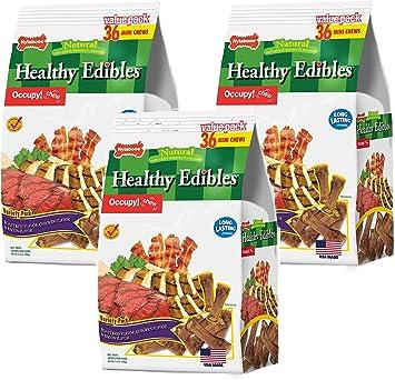 Hogar De Calidad Premium Perro trata 5 X BAGS 5 X diferentes sabores Pet Chew Paquete