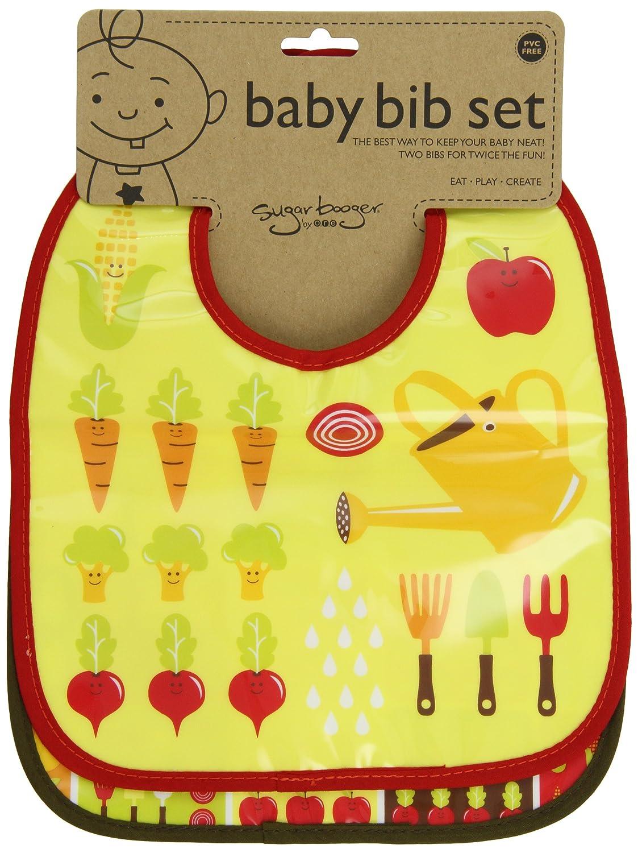 Sugarbooger Mini Bib Gift Set 2 Count Cupcake