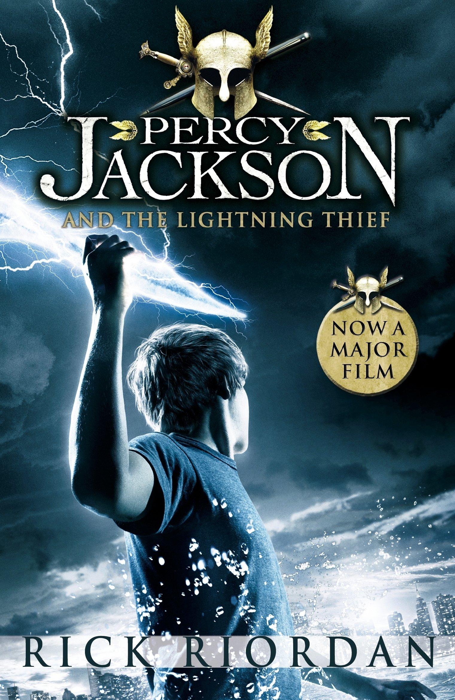 percy jackson and the lightning thief rick riordan