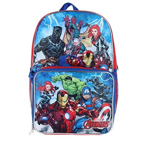 Image Unavailable. Image not available for. Colour  Marvel Kids  16-inch  Avengers Backpack ... bdb802ce56ee4