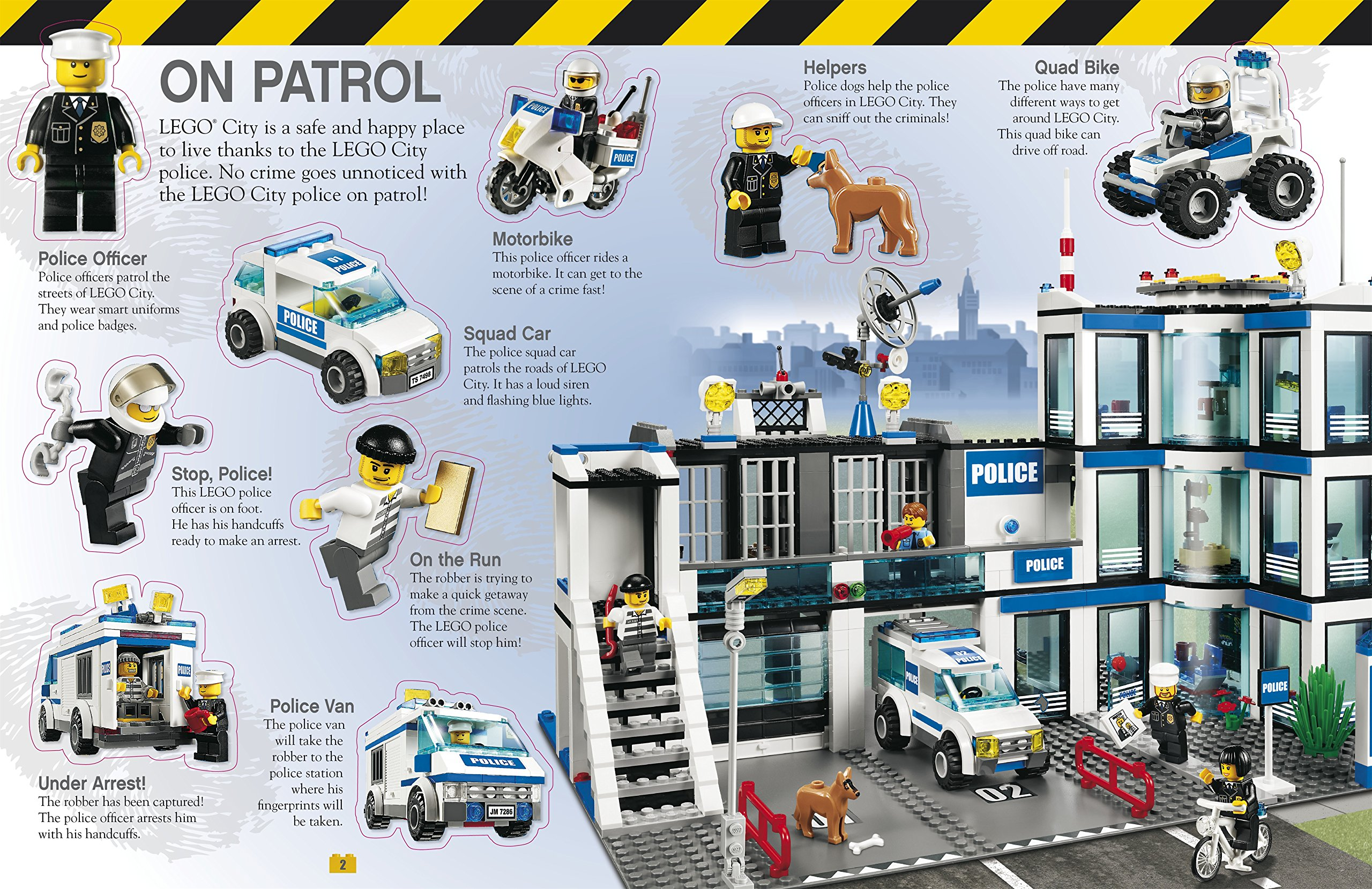 LEGO® City Ultimate Sticker Collection (Ultimate Stickers): Amazon ...