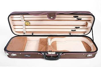 Estuche para Violín madera Delux 4/4 Beige-Beige M-CASE ...