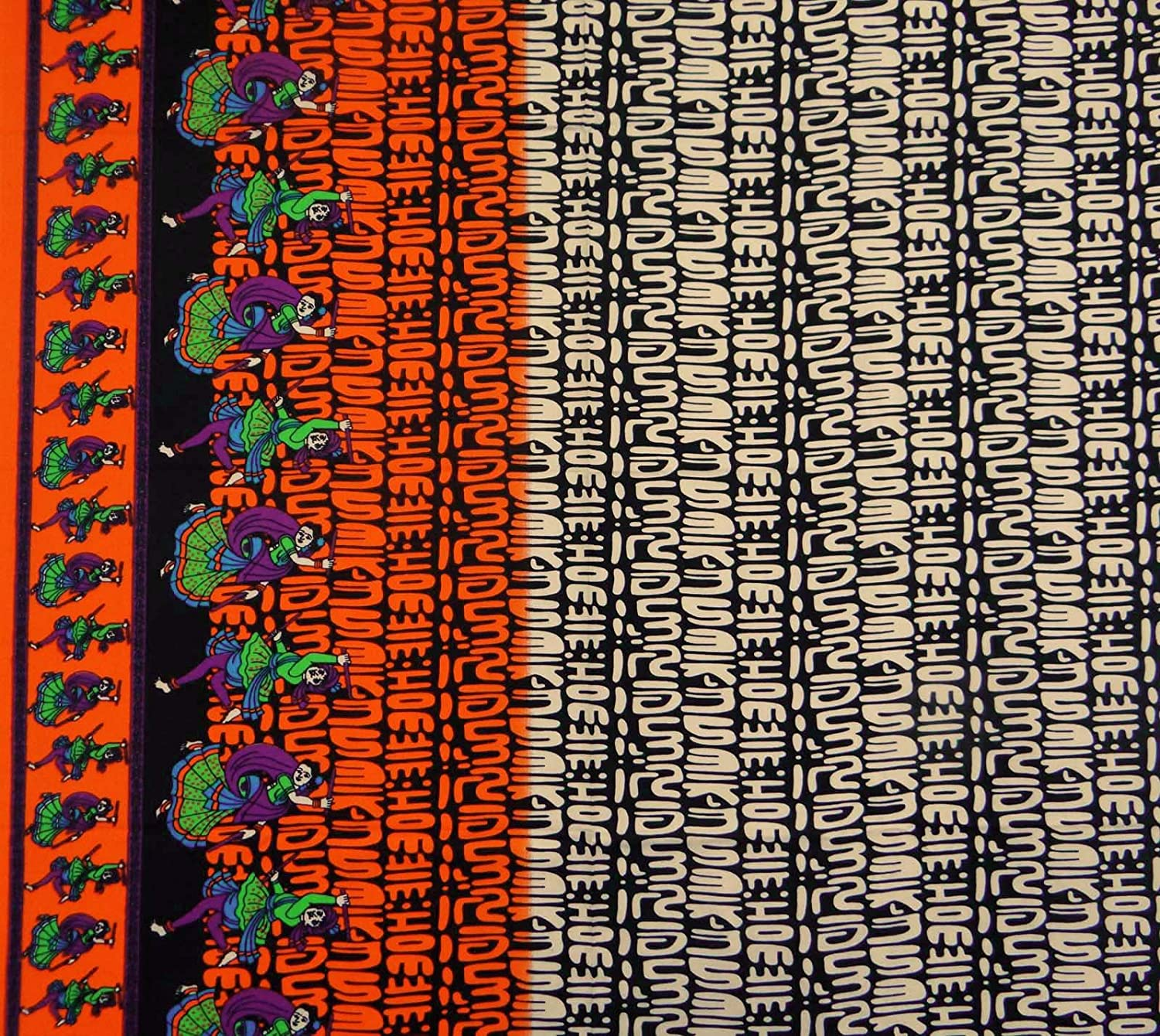 """Pure Cotton Fabric Polka Dot Print 42/""""Wide Sewing Material By The Yard India"""