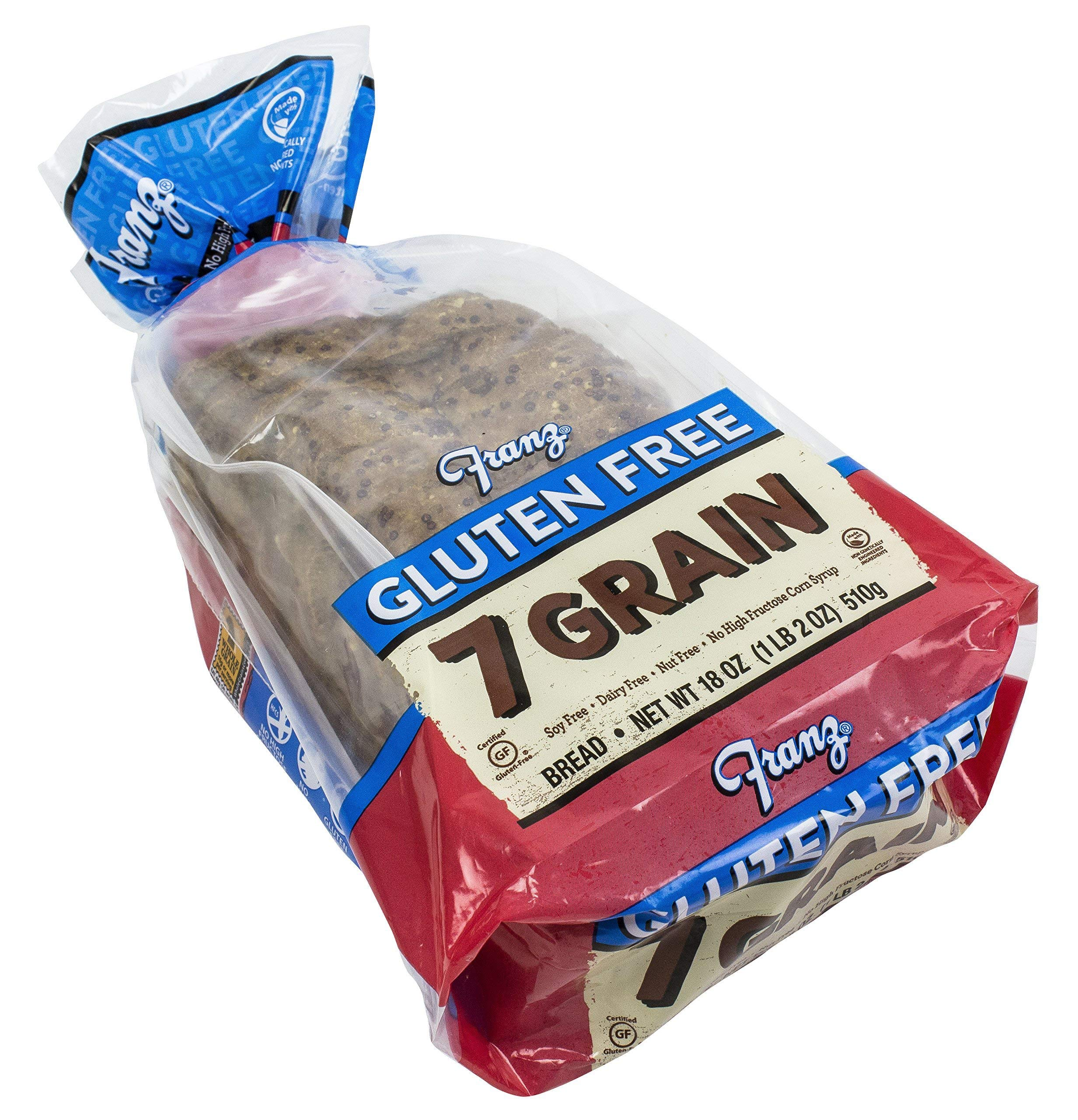 Franz Bakery, Bread 7 Grain Gluten free, 18 Ounce by Franz Bakery