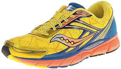 Saucony Men's Breakthru Running Shoe,Yellow/Blue/Orange,8.5 ...