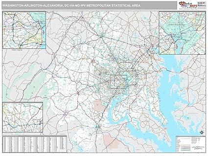 Amazon Com Marketmaps Washington Arlington Alexandria Dc Metro