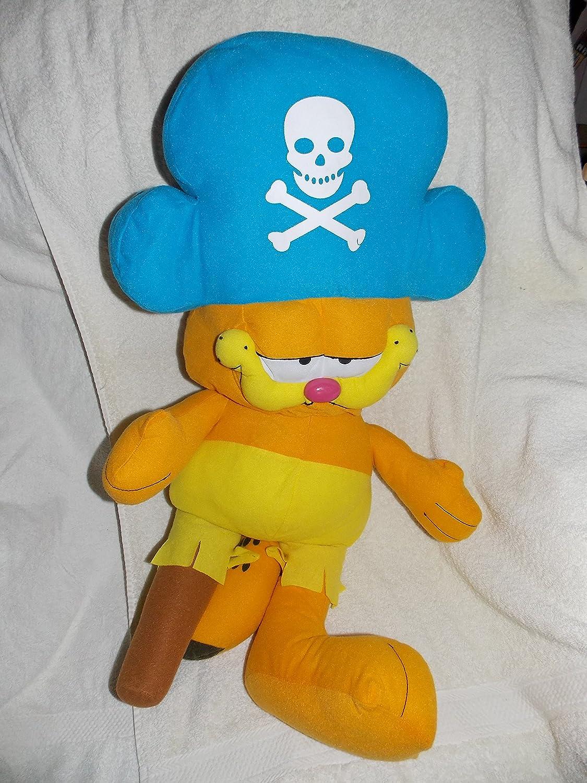 Amazon Com Garfield Large 29 Stuffed Plush The Cat Pirate Doll With Peg Leg Toys Games