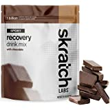 SKRATCH LABS Sport Recovery Drink Mix with Chocolate, (21.2 oz, 12 servings) with Complete Milk Protein of Casein and…