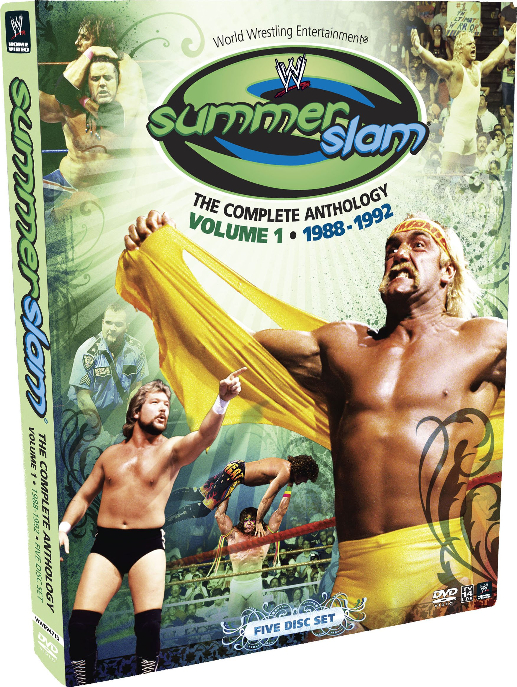 WWE: Summerslam - The Complete Anthology, Vol. 1 1988-1992 by WWE