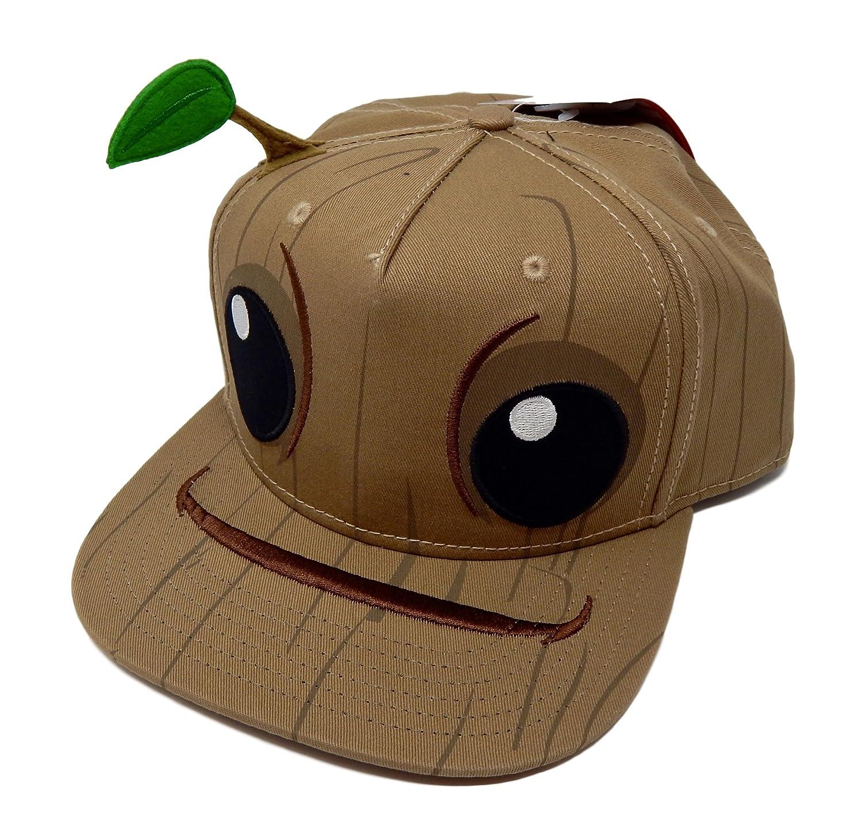 e4b39b6b3 bioworld Groot Guardians of The Galaxy Costume Snapback Hat Cap New ...
