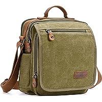 Plambag Canvas Messenger Bag Small Travel School Bag