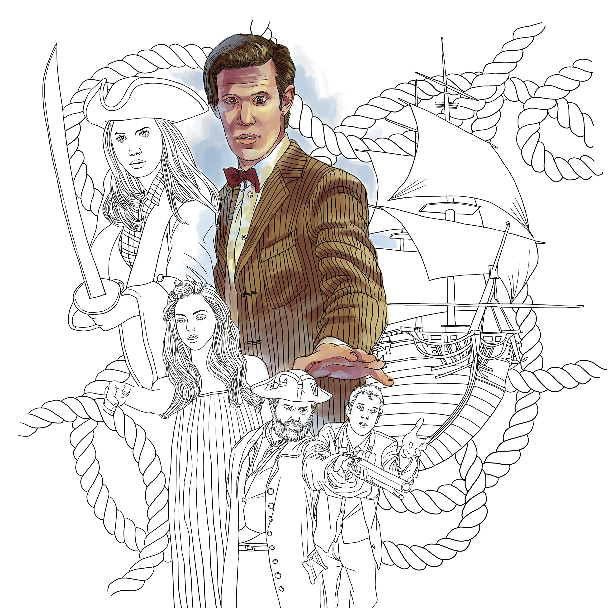 Doctor Who Travels In Time Coloring Book Price Stern Sloan 9780451534255 Amazon Books