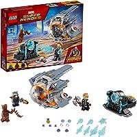 LEGO Juego de Construcción Marvel Super Heroes Avengers Infinity War, Thor, Groot y Rocket, Aventura Tras el Arma de...