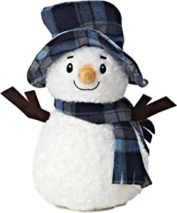 "Aurora World Bundled Up Snowman Plush, 11"""