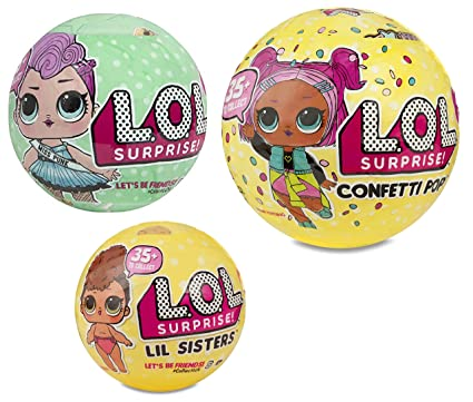 L O L Surprise Confetti Pop Series 3 Wave 1 Unwrapping Toy