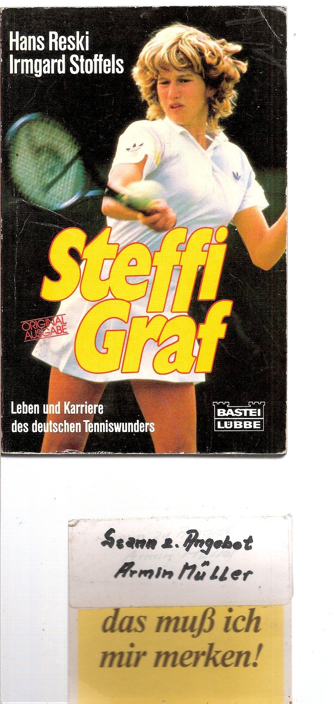 Steffi Graf  Biographien. Bastei Lübbe Taschenbücher