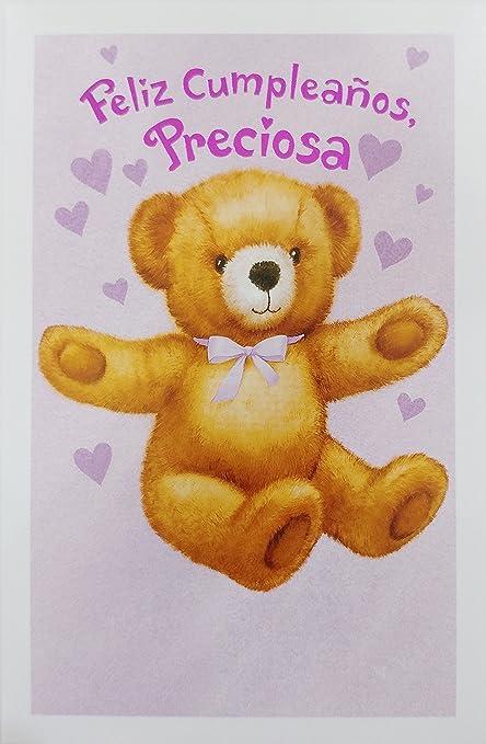 Amazon.com : Feliz Cumpleanos Preciosa / Happy Birthday for ...