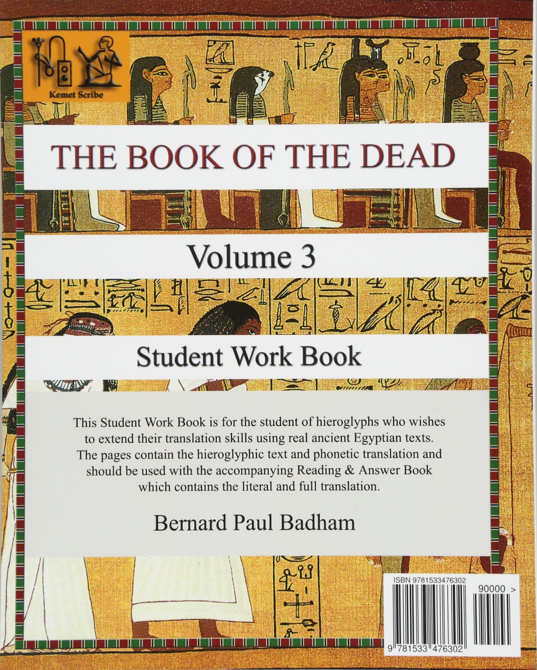 THE BOOK OF THE DEAD (VOLUME 3) Student Work Book (THE BOOK OF THE