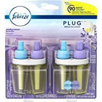 2-Pack Febreze Air Freshener Mediterranean Lavender Dual Oil Refill,1.75oz