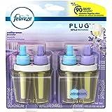 Febreze  Air Freshener, Noticeables Air Freshener,  Mediterranean Lavender Dual Oil Refill Air Freshener (2 count, 1.75 Oz)