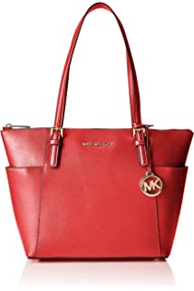 Michael KorsJet Set Top-Zip Saffiano Leather Tote - Bolsa de ...