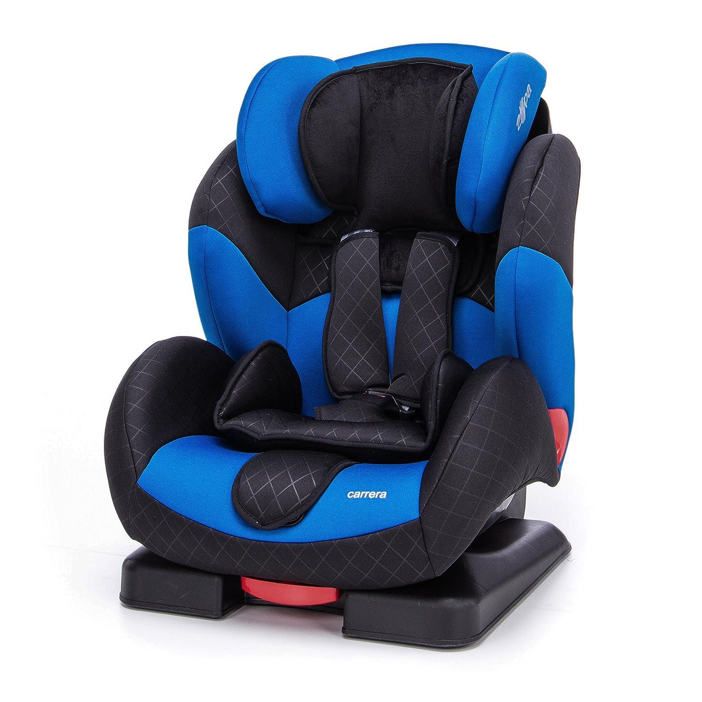 ZOPA Kinderautositz Carrera 9 - 36 kg - verstellbarer Autokindersitz ab 9 Monate bis ca. 12 Jahre - Gruppe 1/2/3 - Kindersitz mit Seitenaufprallschutz - 5-Punkt Sicherheitsgurt, verstellbare Rü ckenlehne - verstellbare Kopfstü tze schü tzt d